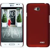 Hardcase for LG L70 rubberized red