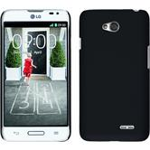 Hardcase for LG L70 rubberized black