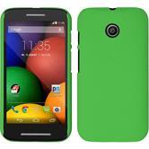 Hardcase for Motorola Moto E rubberized green