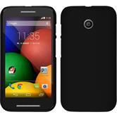 Hardcase for Motorola Moto E rubberized black