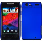 Hardcase for Motorola Razr rubberized blue