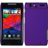 Hardcase for Motorola Razr rubberized purple