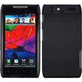 Hardcase for Motorola Razr rubberized black