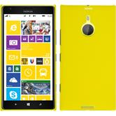 Hardcase for Nokia Lumia 1520 rubberized yellow