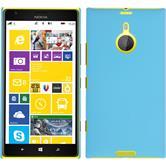 Hardcase for Nokia Lumia 1520 rubberized light blue
