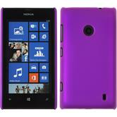 Hardcase for Nokia Lumia 525 rubberized purple
