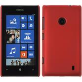 Hardcase for Nokia Lumia 525 rubberized red