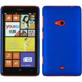 Hardcase for Nokia Lumia 625 rubberized blue