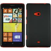 Hardcase Lumia 625 gummiert schwarz