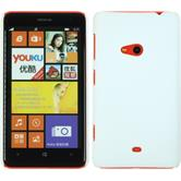 Hardcase for Nokia Lumia 625 rubberized white