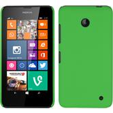 Hardcase for Nokia Lumia 630 rubberized green