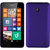 Hardcase for Nokia Lumia 630 rubberized purple