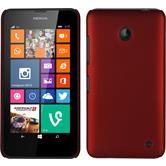 Hardcase for Nokia Lumia 630 rubberized red