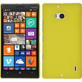 Hardcase Lumia 930 gummiert gelb