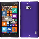 Hardcase Nokia Lumia 930 gummiert lila + 2 Schutzfolien