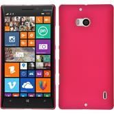Hardcase for Nokia Lumia 930 rubberized hot pink