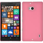 Hardcase for Nokia Lumia 930 rubberized pink