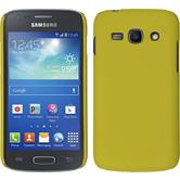 Hardcase for Samsung Galaxy Ace 3 rubberized yellow