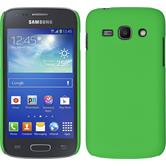 Hardcase for Samsung Galaxy Ace 3 rubberized green