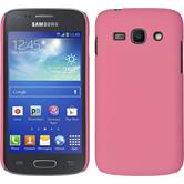 Hardcase for Samsung Galaxy Ace 3 rubberized pink
