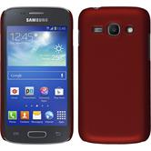Hardcase for Samsung Galaxy Ace 3 rubberized red