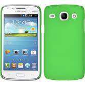 Hardcase for Samsung Galaxy Core rubberized green
