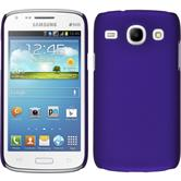 Hardcase for Samsung Galaxy Core rubberized purple