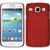 Hardcase for Samsung Galaxy Core rubberized red