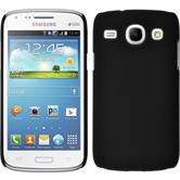 Hardcase for Samsung Galaxy Core rubberized black