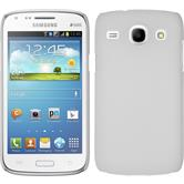 Hardcase for Samsung Galaxy Core rubberized white