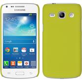 Hardcase for Samsung Galaxy Core Plus rubberized yellow