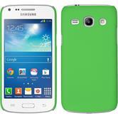 Hardcase Galaxy Core Plus gummiert grün + 2 Schutzfolien