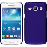 Hardcase for Samsung Galaxy Core Plus rubberized purple