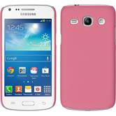 Hardcase for Samsung Galaxy Core Plus rubberized pink