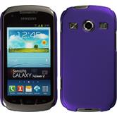 Hardcase for Samsung Galaxy Xcover 2 rubberized purple