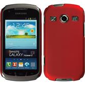 Hardcase for Samsung Galaxy Xcover 2 rubberized red