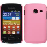 Hardcase for Samsung Galaxy Y Duos rubberized pink
