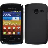 Hardcase for Samsung Galaxy Y Duos rubberized black