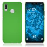 Hardcase Nova 3 rubberized green Cover