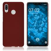 Hardcase Nova 3 rubberized red Cover