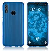 Silicone Case Honor 10 Lite matt blue Cover