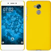 Hardcase Nova Smart (Honor 6c) rubberized yellow Case