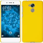 Hardcase Nova Smart (Honor 6c) gummiert gelb Case