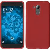 Silicone Case Honor 6C Pro matt red Case