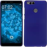 Hardcase Honor 7x rubberized blue Case