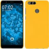 Hardcase Honor 7x rubberized yellow Case
