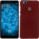Hardcase Honor 7x rubberized red Case
