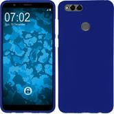 Silicone Case Honor 7x matt blue Case