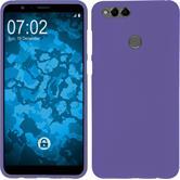 Silicone Case Honor 7x matt purple Case