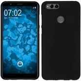 Silicone Case Honor 7x matt black Case